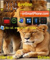 Скриншот темы Lions 02