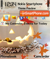 Halloween 3 theme screenshot
