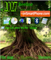 Tree 09 theme screenshot