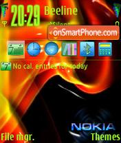 Скриншот темы Crash Nokia