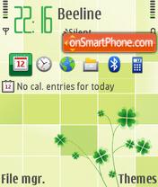 Simplicity ovi FP2 theme screenshot