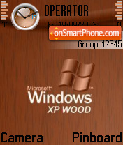 Win Xp Wood theme screenshot