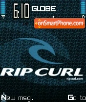 Rip Curl tema screenshot