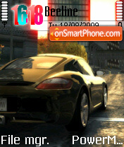 Nfs Car 03 theme screenshot