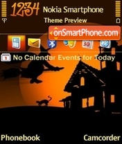 Halloween 4 tema screenshot