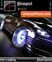 Nissan Racer theme screenshot