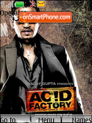 Acid Factory theme screenshot