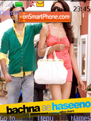 Bachna Ae Haseeno theme screenshot