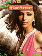 Deepika Padukone Velocity Edition Theme-Screenshot