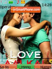 Love Aaj Kal theme screenshot