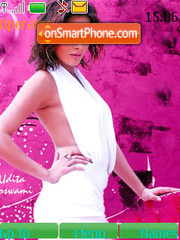 Udita Goswami theme screenshot