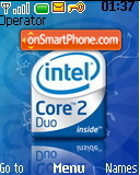 Скриншот темы Intel Core 2 Duo