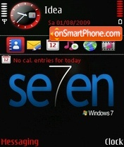 Скриншот темы Windows7