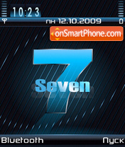 Seven theme screenshot
