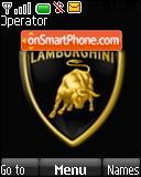 Скриншот темы Lamborghini Logo