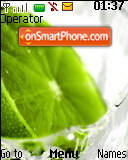 Lime tema screenshot