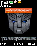 Transformers theme screenshot