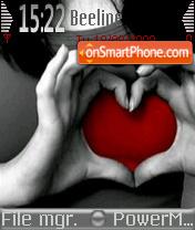 My Heart 01 es el tema de pantalla