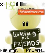 Friends 09 es el tema de pantalla