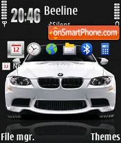 Bmw M3 14 theme screenshot