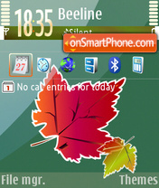 Autumn 04 theme screenshot