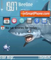 Скриншот темы Shark 07