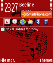 Notation 01 theme screenshot