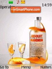 Absolut Mandrin theme screenshot