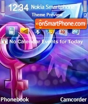 You and Me 02 theme screenshot