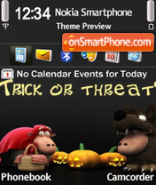 Halloween 6 theme screenshot