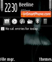 Скриншот темы Nymphetamine Fp1