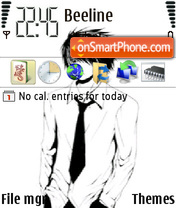 Sasuke 08 theme screenshot