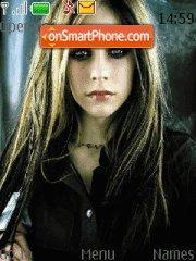 Скриншот темы Avril