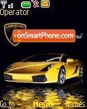 Lamborghini car theme screenshot