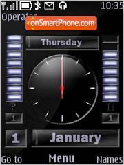 Black Dash theme screenshot