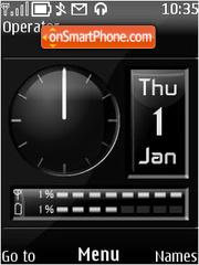 Black Dash (2) theme screenshot
