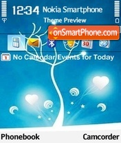 Love 5 theme screenshot