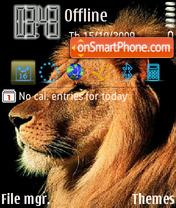 Скриншот темы Leo 09
