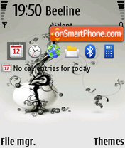 Freestyle theme screenshot