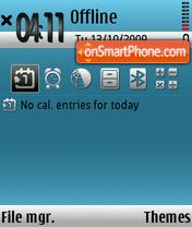 New os theme screenshot
