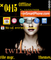 Kristen Stewart 01 theme screenshot