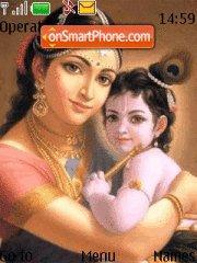 Capture d'écran Krishna thème