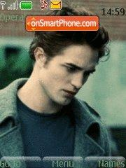 Edward from Twilight tema screenshot
