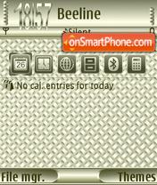 Weaving FP1 theme screenshot