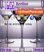 3 Martini Theme tema screenshot