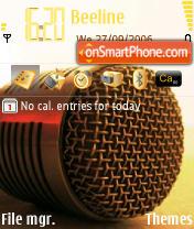 MIC Roky theme screenshot