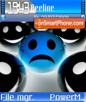 Blue Smile 02 es el tema de pantalla