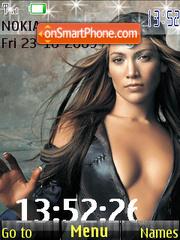 Jennifer Lopez SWF es el tema de pantalla