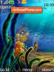 Скриншот темы The underwater world