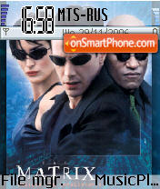 The Ultimate Matrix es el tema de pantalla